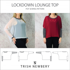 Lockdown Lounge Top Pattern 2027