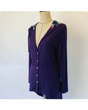 The Willow Cardigan Sewing Pattern 2032 Trish Newbery with back vent