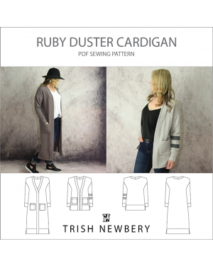 Pattern 2037 Ruby Duster Cardigan