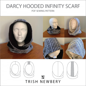 Darcy Hooded Reversible Infinity Scarf