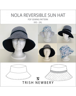Nola Reversible Sun Hat