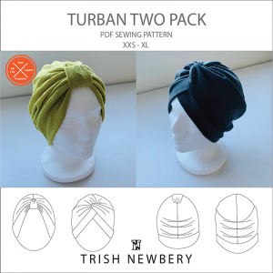 Turban Two Pack Pattern 2109