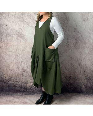 Martha Apron Dress Sewing Pattern