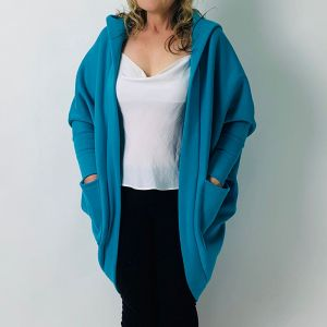 Dana Shrug Cardi with Hood - Pattern 2036