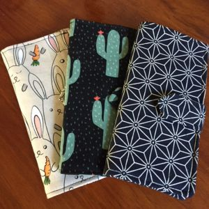 Free 12 Slot Loyalty Card Wallet Downloadable PDF Sewing Pattern with YouTube Sew-a-long video