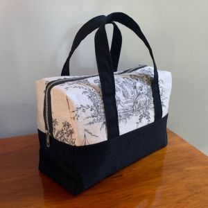 Free Boston Bag Sewing Pattern