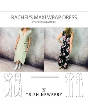 Pattern 1802 Rachels Maxi Wrap Dress
