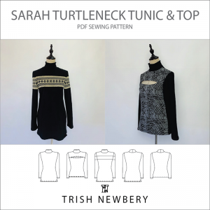 Pattern 1904 Sarah Turtleneck Tunic and Top