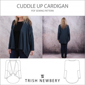 Pattern 1930 The Cuddle Up Cardigan