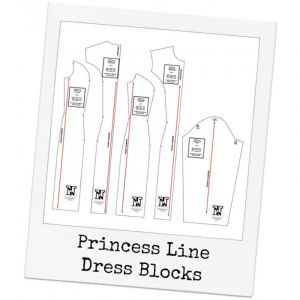 Princess Line Dress Blocks