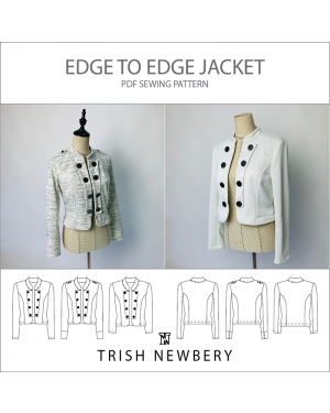 Pattern 1902 Edge To Edge Jacket