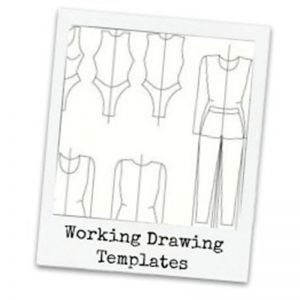 Print At Home Working Drawing Template