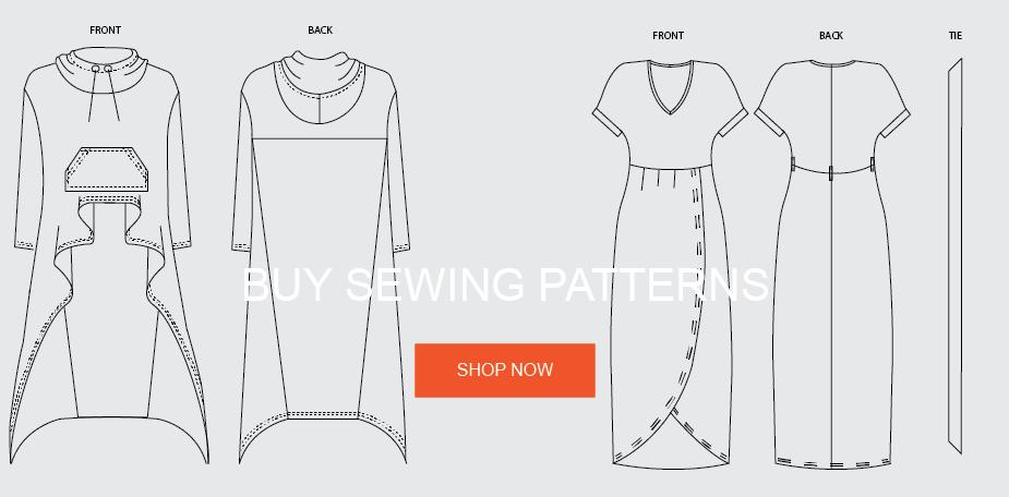 Trish Newbery Design Buy Beginner Intermediate Advanced PDF Sewing Patterns Free Learn To Sew