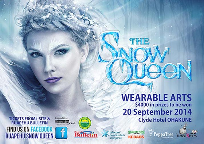 Trish Strongman guest judge for Ruapehu Snow Queen Fashion Competition