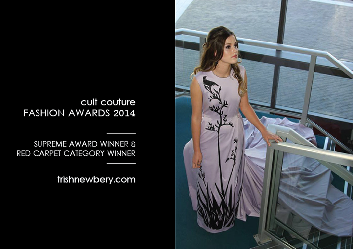 Trish Strongman Cult Couture 2014 Premier Award winner