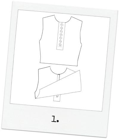 Half Placket Trish Newbery Design PDF Sewing Patterns