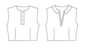 Bodice Placket Trish Newbery Design PDF Sewing Patterns